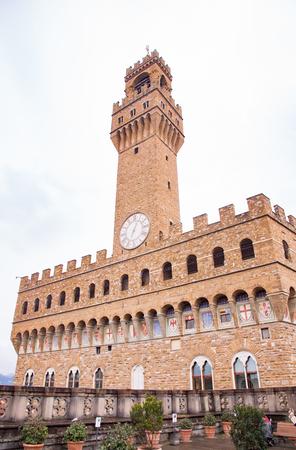 palazzo: Palazzo Vecchio in Florence, Italy