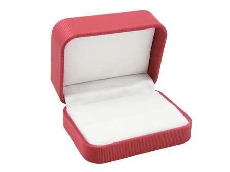 The red small open box for jewellery Stock Photo - 8708002