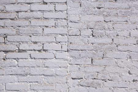 Old light broken white Bricks Wall Pattern decoration texture loft interior or exterior 스톡 콘텐츠