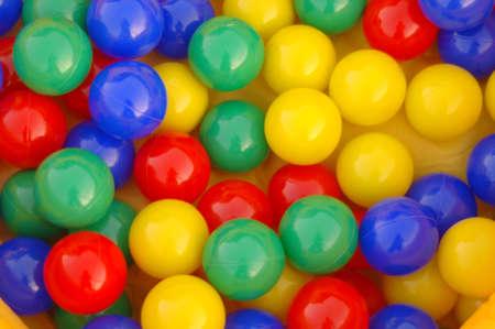 Colored ballls