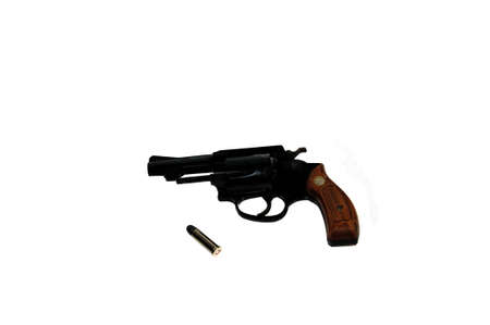 Pistol with bullet isolation