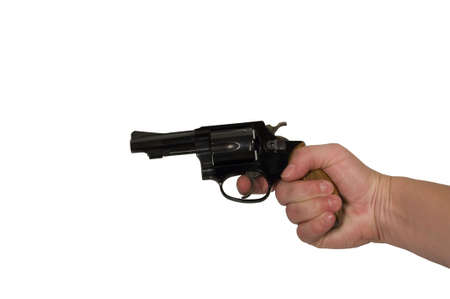 38 caliber hand gun Stock Photo - 482517