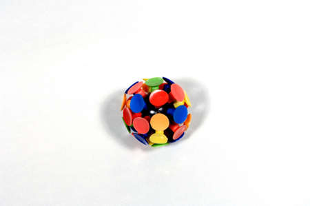 Multi-colored suction ball