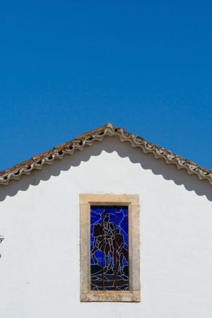 A house roof with a window knight Stock Photo - 776399