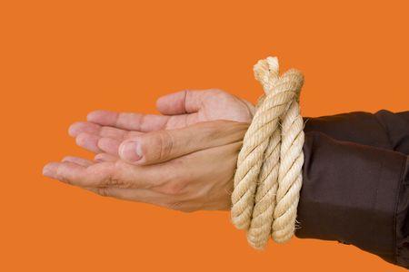 deadlock: an arrested businessman begging for his life
