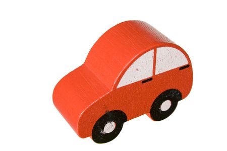 bijoux: a car toy isolated in white background