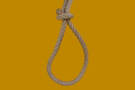 rope for hanging a bad man photo