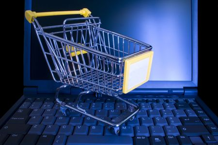 online shopping made life easyer for everyone Stock Photo - 1290375