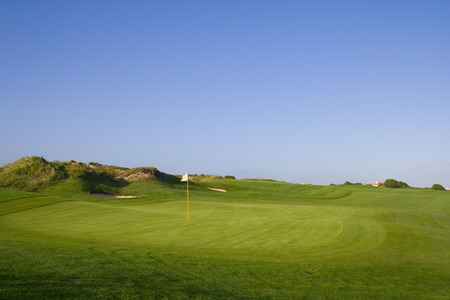 a green in a golf course Stock Photo - 1622525