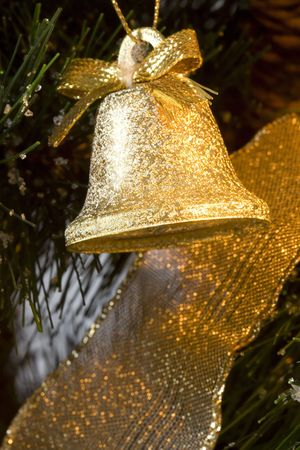 One Bell at the Christmas tree photo