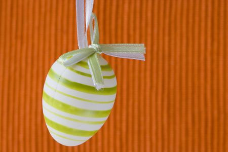 Colorful easter eggs for backgrounds (selective and soft focus) photo