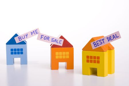 choose your best deal, buying one of this houses Stock Photo - 3069829