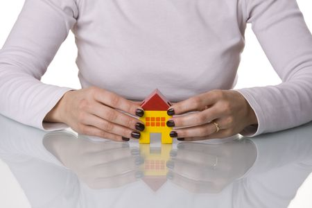 sleep well, your house have the best protection (selective and soft focus) Stock Photo - 3069866