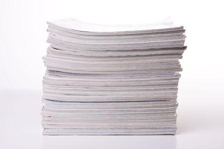 informait: une pile de magazines
