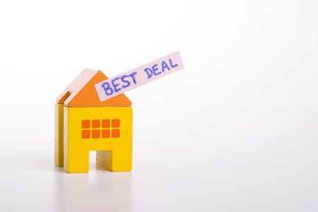 choose your best deal, buying one of this houses Stock Photo - 3118684