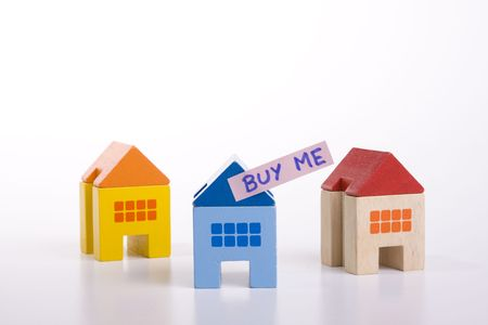choose your best deal, buying one of this houses Stock Photo - 3145508