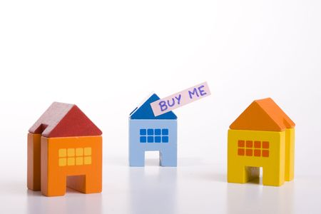 choose your best deal, buying one of this houses Stock Photo - 3183749