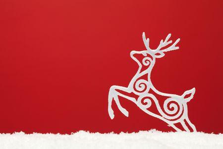 christmas ornament background (very shallow deep) photo