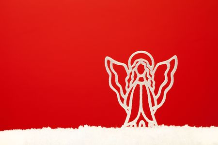 christmas ornament background; (very shallow deep) Stock Photo - 5972876
