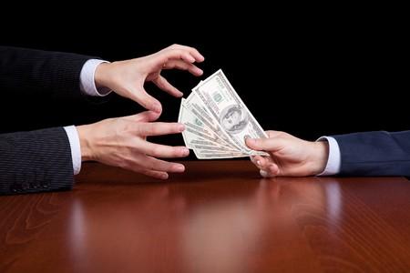 businessman giving money Stock Photo - 6952959