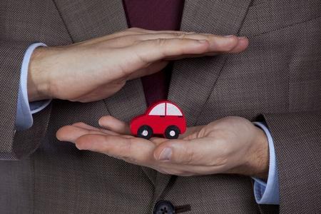 seguros: Su soluci�n de seguros de coche profesional para la mejor protecci�n  Foto de archivo