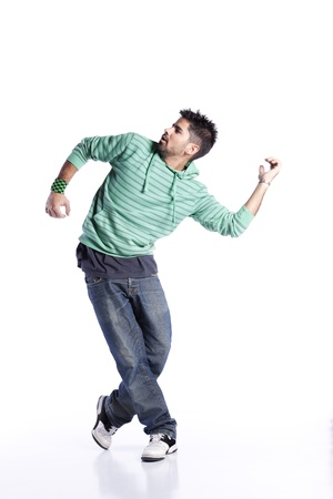 hiphop: Hip hop dancer showing some movements