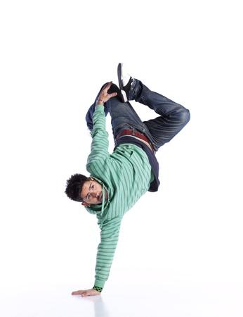 hiphop: Hip hop dancer showing some movements (some motion blur)