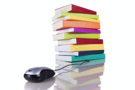 online information access concept (selective focus) photo