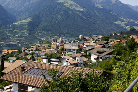 tyrol: Scena South Tyrol Stock Photo