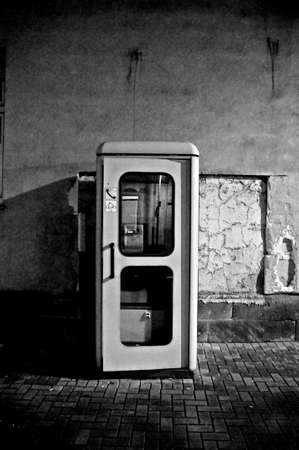 phone booth: Phone booth