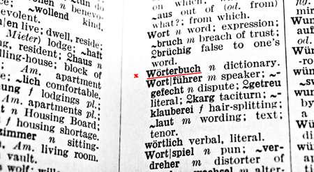 dictionary: dictionary