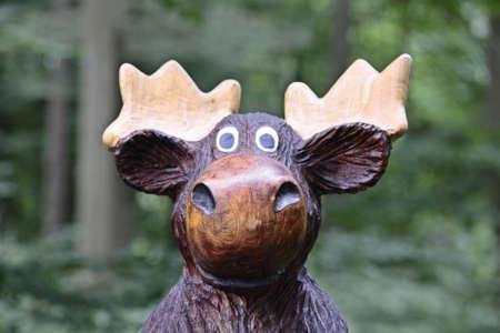 symbole: moose-head,
