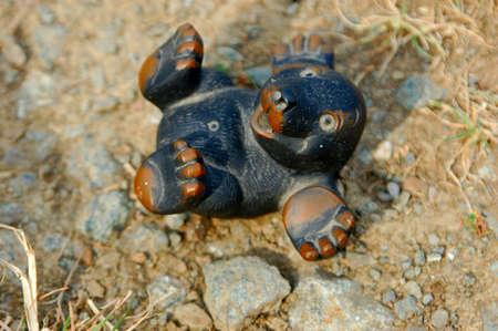symbole: little mole Stock Photo