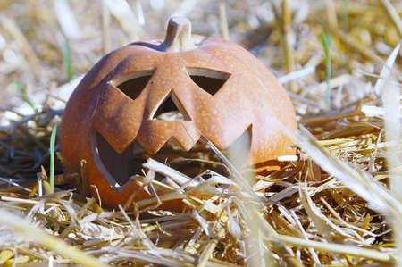 symbole: pumpkin head Stock Photo