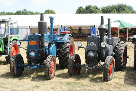 agricultural engineering: tractor oldtimer