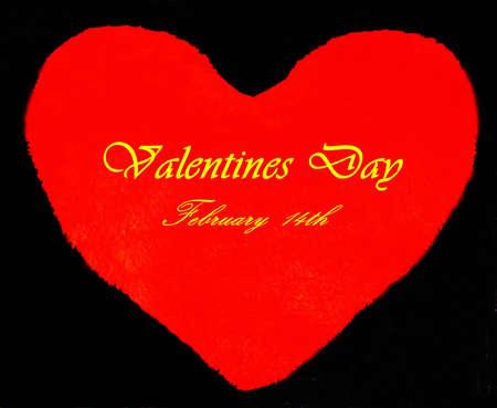 hard: valentijnsdag moeilijk Stockfoto