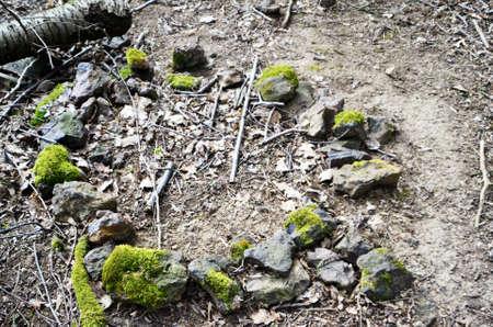 steencirkel: steen cirkel