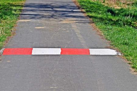 barrier: Safety barrier