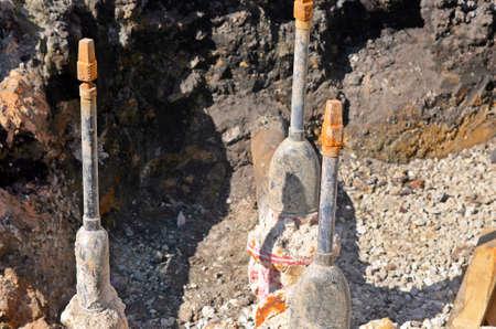 earthwork: Earthwork and water tubes