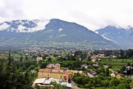 alpine peaks Banco de Imagens