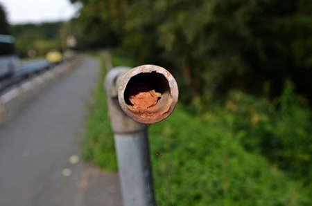 banister: banister Stock Photo