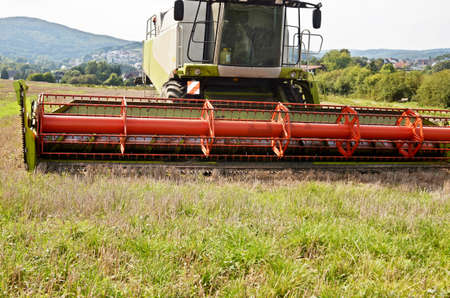 harvester: big harvester Stock Photo