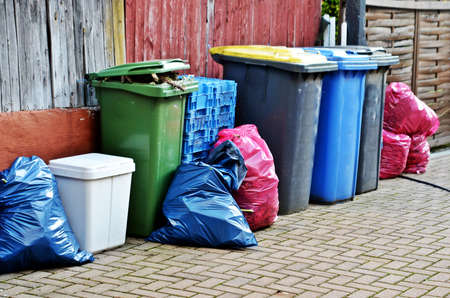 waste products: waste products of civilization Stock Photo
