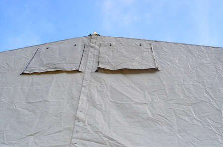 gable: marquee Gable Stock Photo