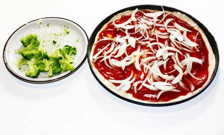 cebollas: pizza con cebolla
