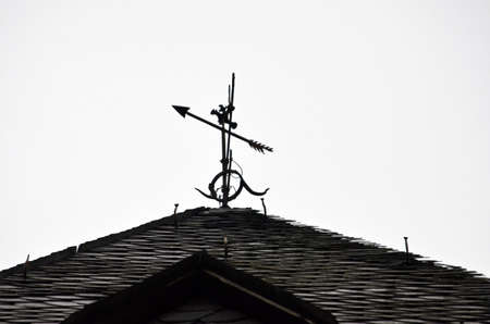 anemometer: anemometer on a roof