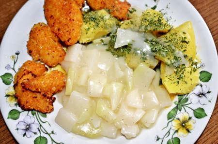 Chicken Nuggets: nuggets de pollo con patatas