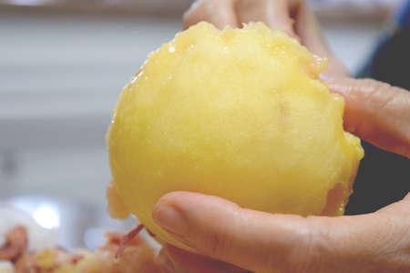 peel a peach