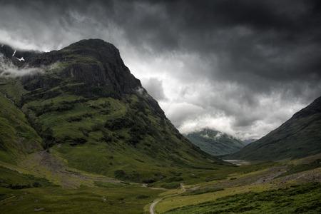 glencoe: A Dramatic Glencoe, Scotland.