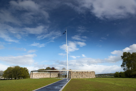 robert bruce: The Rotunda at the Battle of Bannockburn Memorial Site, Stirling, Scotland. It that marks the spot where Robert the Bruce raised his standard at the Battle of Bannockburn.